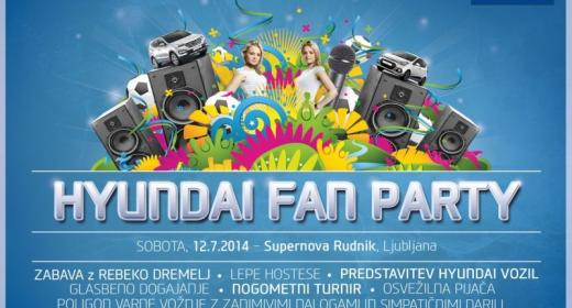 NOGOMETNI TURNIR HYUNDAI FAN PARTY!